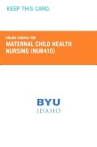 cover image - Maternal Child Health Nursing Course Fee (NUR410CF)