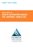 cover image - Health Alteration Across the Lifespan I Retail Card (NUR1212C RC)