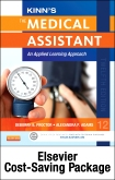 cover image - Kinn's The Medical Assistant - Elsevier Adatpive Learning and Elsevier Adaptive Quizzing Package,12th Edition