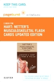 Netter's Musculoskeletal Flash Cards Updated Edition Elsevier eBook on VitalSource (Retail Access Card)