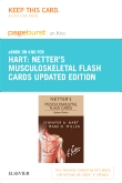 Netter's Musculoskeletal Flash Cards Updated Edition Elsevier eBook on Intel Education Study (Retail Access Card)
