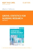 Statistics for Nursing Research - Elsevier eBook on VitalSource (Retail Access Card), 2nd Edition