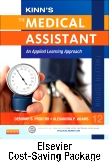 cover image - Kinn's The Medical Assistant and Elsevier Adaptive Quizzing (Access Card) Package,12th Edition
