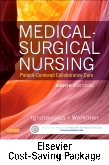 cover image - Medical-Surgical Nursing - Two-Volume Text and Adaptive Learning (Access Card) Package,8th Edition