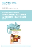 cover image - Elsevier Adaptive Learning for Maternity and Women's Health Care (Access Card),11th Edition