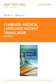 cover image - Medical Language Instant Translator - Elsevier eBook on VitalSource (Retail Access Card),6th Edition