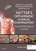 cover image - Evolve Resources for Netter's Orthopaedic Clinical Examination,3rd Edition
