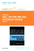 cover image - Guyton & Hall Physiology Review Elsevier eBook on VitalSource (Retail Access Card),3rd Edition