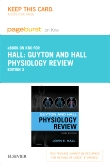 Guyton & Hall Physiology Review Elsevier eBook on Intel Education Study (Retail Access Card), 3rd Edition