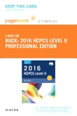2016 HCPCS Level II Professional Edition -  Elsevier eBook on VitalSource (Retail Access Card)