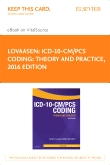 ICD-10-CM/PCS Coding: Theory and Practice, 2016 Edition – Elsevier eBook on VitalSource (Retail Access Card)