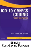ICD-10-CM/PCS Coding: Theory and Practice, 2016 Edition - Text and Workbook Package