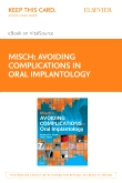 cover image - Misch's Avoiding Complications in Oral Implantology - Elsevier eBook on VitalSource (Retail Access Card)