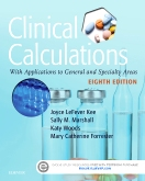 cover image - Clinical Calculations,8th Edition