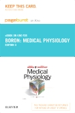 Medical Physiology Elsevier eBook on Intel Education Study (Retail Access Card), 3rd Edition