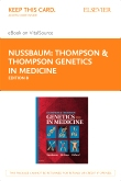 Thompson & Thompson Genetics in Medicine Elsevier eBook on VitalSource (Retail Access Card), 8th Edition