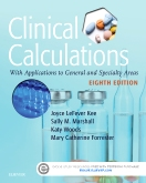 cover image - Evolve Resources for Clinical Calculations,8th Edition