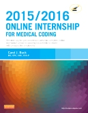 cover image - Evolve Resources for Online Internship for Medical Coding 2015/2016 Edition