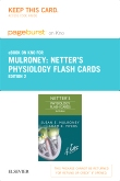 Netter's Physiology Flash Cards Elsevier eBook on Intel Education Study (Retail Access Card), 2nd Edition