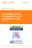 cover image - Egan's Fundamentals of Respiratory Care - Elsevier eBook on VitalSource (Retail Access Card),11th Edition