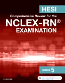 cover image - HESI Comprehensive Review for the NCLEX-RN® Examination - Elsevier eBook on VitalSource,5th Edition