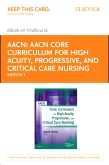 cover image - AACN Core Curriculum for High Acuity, Progressive and Critical Care Nursing - Elsevier eBook on VitalSource (Retail Access Card),7th Edition