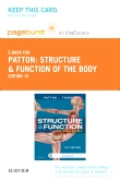 cover image - Structure & Function of the Body - Elsevier eBook on VitalSource (Retail Access Card),15th Edition