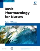 cover image - Evolve Resources for Basic Pharmacology for Nurses,17th Edition