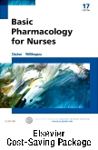 cover image - Basic Pharmacology for Nurses - Text & Study Guide Package,17th Edition