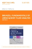 cover image - Fundamentals of Urine & Body Fluid Analysis - Elsevier eBook on VitalSource (Retail Access Card),4th Edition