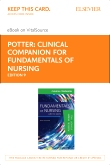 cover image - Clinical Companion for Fundamentals of Nursing - Elsevier eBook on VitalSource (Retail Access Card),9th Edition
