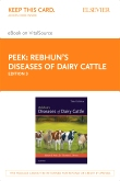 cover image - Rebhun's Diseases of Dairy Cattle – Elsevier eBook on VitalSource (Retail Access Card),3rd Edition