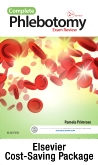 cover image - Complete Phlebotomy Exam Review - Elsevier eBook on VST + Evolve (Retail Access Cards),2nd Edition