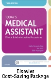 cover image - Today's Medical Assistant - Text and Elsevier Adaptive Quizzing (Access Card) Package,3rd Edition