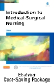 Introduction to Medical-Surgical Nursing - Text and Elsevier Adaptive Quizzing (Access Card) Package, 6th Edition