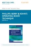 Berry & Kohn's Operating Room Technique - Elsevier eBook on Intel Education Study (Retail Access Card), 13th Edition