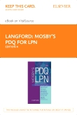 cover image - Mosby's PDQ for LPN - Elsevier eBook on VitalSource (Retail Access Card),4th Edition