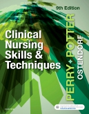 cover image - Clinical Nursing Skills and Techniques,9th Edition