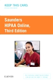 cover image - HIPAA Online (Access Card),3rd Edition