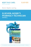 cover image - Elsevier Adaptive Learning for Mosby's Pharmacy Technician (Access Card),4th Edition