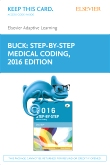 cover image - Elsevier Adaptive Learning for Step-by-Step Medical Coding, 2016 edition (Access Card)