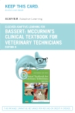 Elsevier Adaptive Learning for McCurrin's Clinical Textbook for Veterinary Technicians (Access Card), 8th Edition