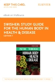 cover image - Study Guide for The Human Body in Health & Disease - Elsevier eBook on VitalSource (Retail Access Card),7th Edition