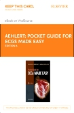 cover image - Pocket Guide for ECGs Made Easy- Elsevier eBook on VitalSource (Retail Access Card),6th Edition