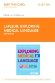 cover image - Exploring Medical Language - Elsevier eBook on VitalSource (Retail Access Card),10th Edition