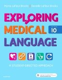 cover image - AudioTerms Audio for Exploring Medical Language,10th Edition