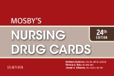 cover image - Mosby's Nursing Drug Cards,24th Edition