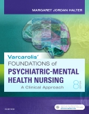cover image - Varcarolis' Foundations of Psychiatric-Mental Health Nursing - Elsevier eBook on VitalSource,8th Edition