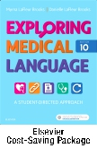 cover image - Exploring Medical Language - Text and AudioTerms Package,10th Edition