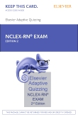 Elsevier Adaptive Quizzing for the NCLEX-RN Exam (36-Month) (Retail Access Card), 2nd Edition